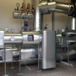 Heißwasserstation mit Blechmantel Wärmeschutz
