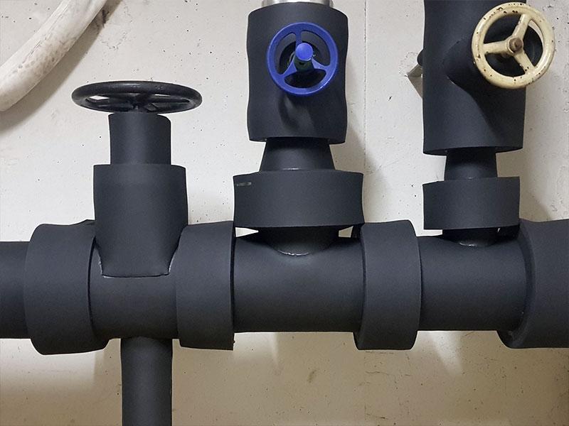 Hauswasseranschluss Kälteschutz