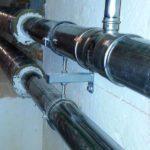 waagerechte Leitungen Conlit 150U-Brandschutz